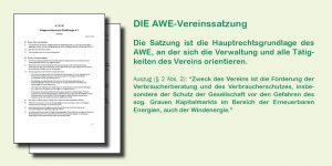 AWE Vereinssatzung